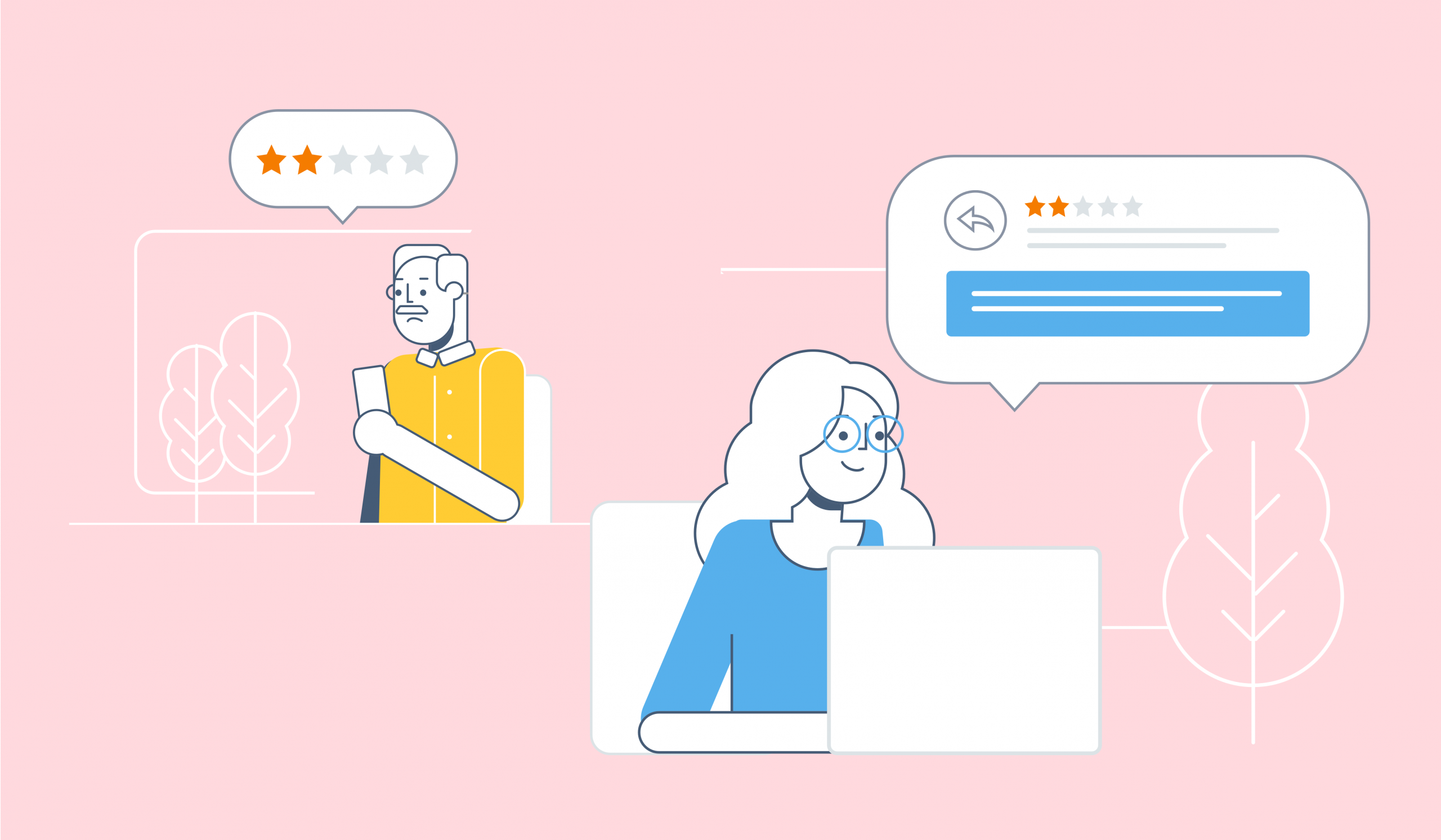 negative customer feedback